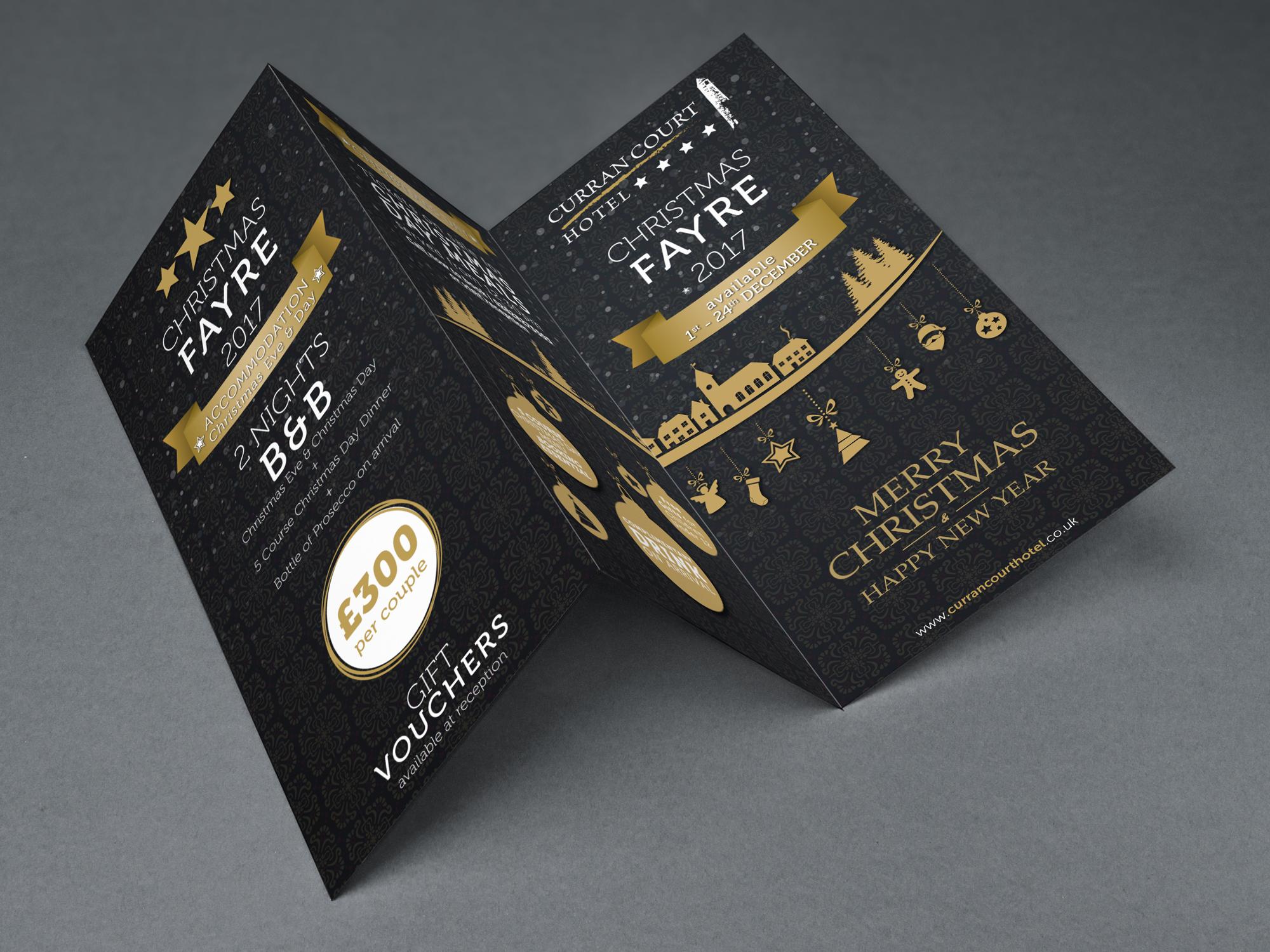 Curran Court Hotel | Tri Fold Leaflets
