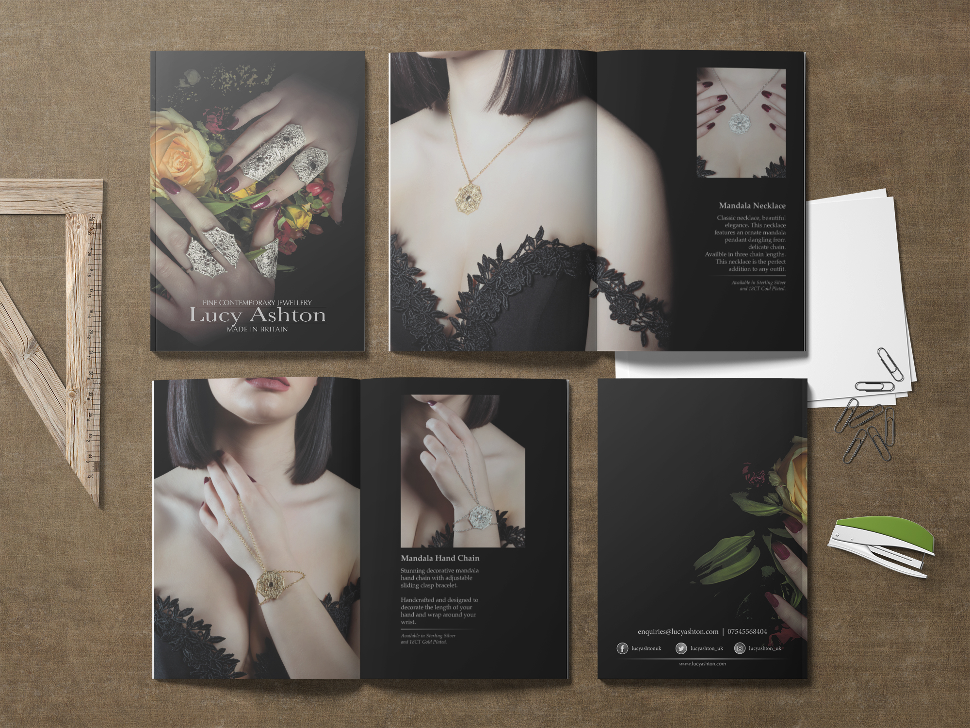 Lucy Ashton Jewellery | Product Catalogue | Booklets